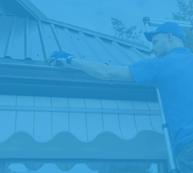 Exterior Eavestrough Cleaning Calgary