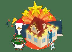 winducks christmas lights for residential